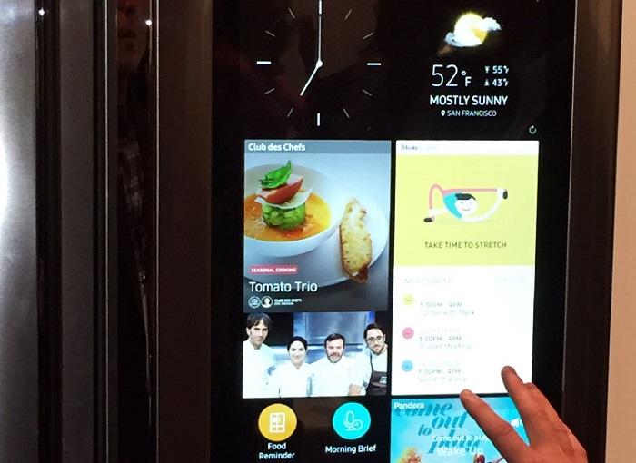 Samsung refrigerator tablet