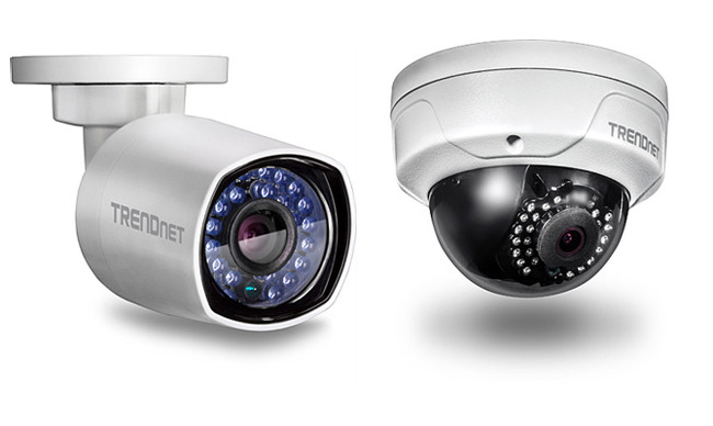 TRENDnet security cameras