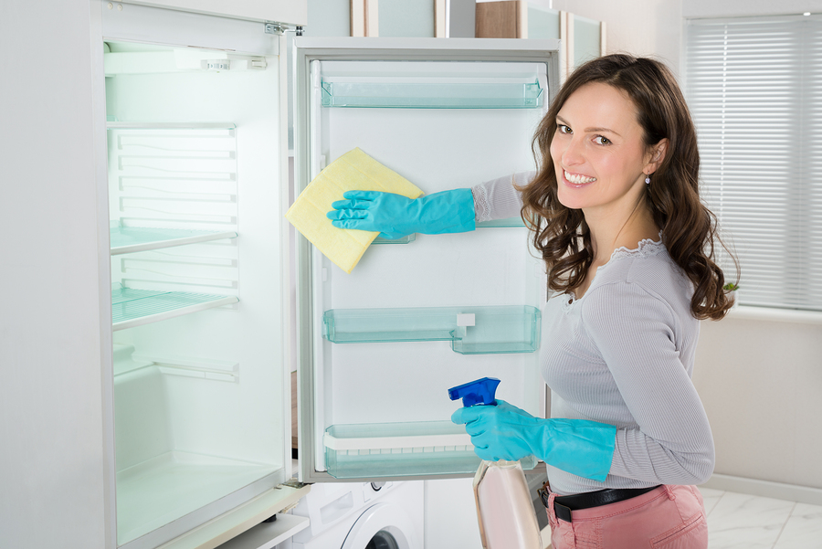 CLEAN THE FRIDGE